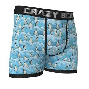 CRAZY BOXER Winter Penguin Boxer Briefs